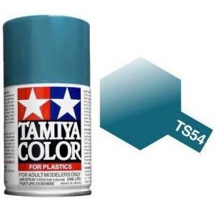 Peinture bombe Bleu Clair Métal brillant TS54 Tamiya