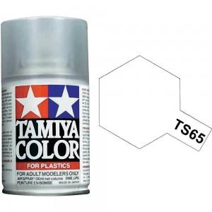 Peinture bombe Vernis nacré TS65 Tamiya