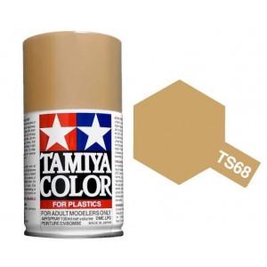 Peinture bombe Beige Pont mat TS68 Tamiya