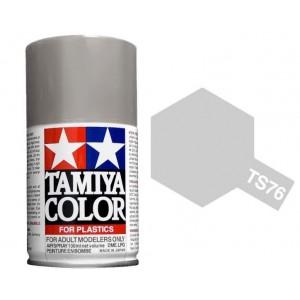 Peinture bombe Argent Clair Métal brillant TS76 Tamiya