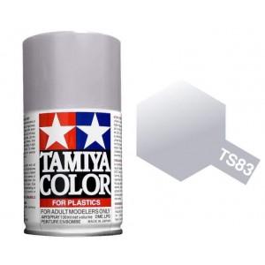 Peinture bombe Argent Métal brillant TS83 Tamiya
