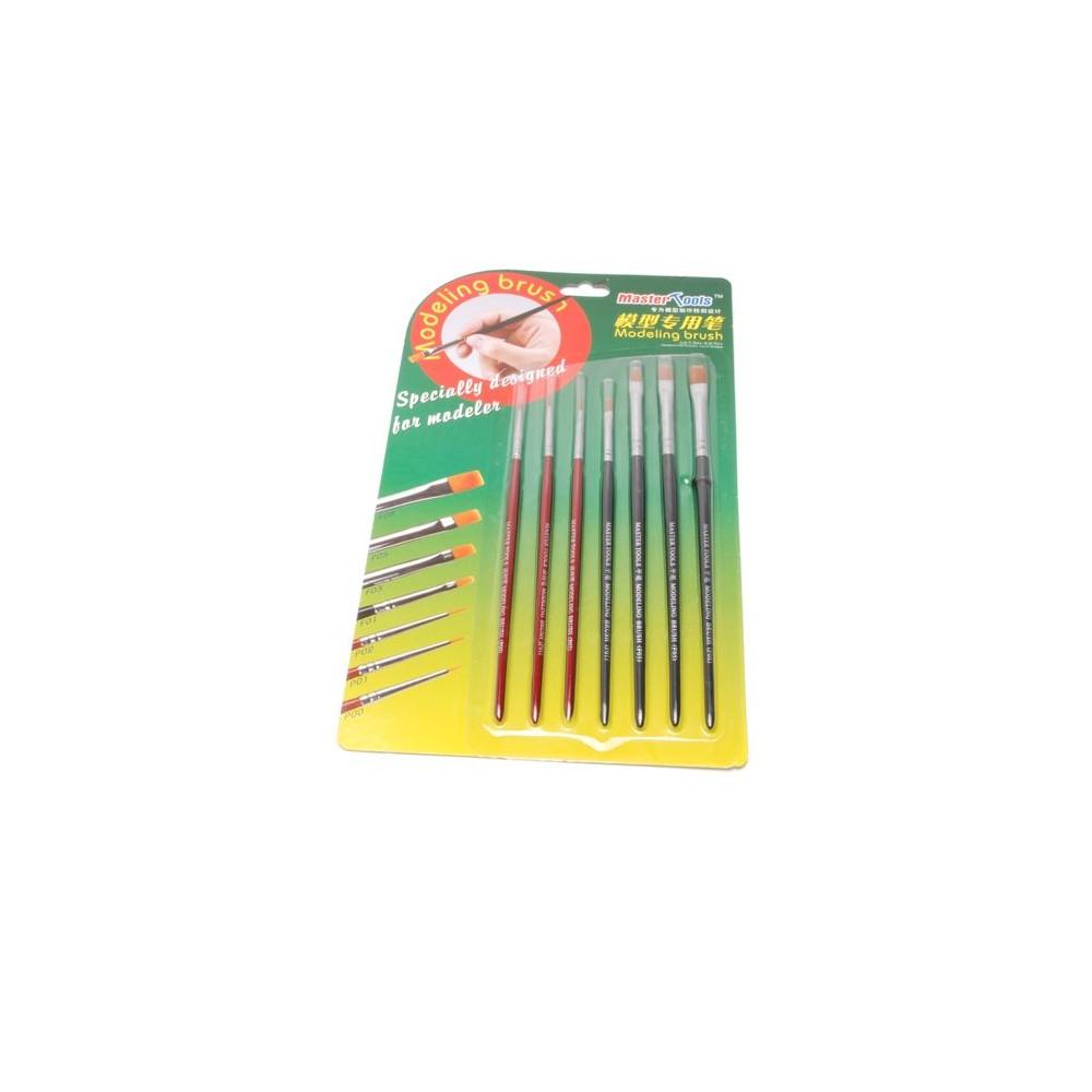 Master Tools 09900 Set de 7 pinceaux
