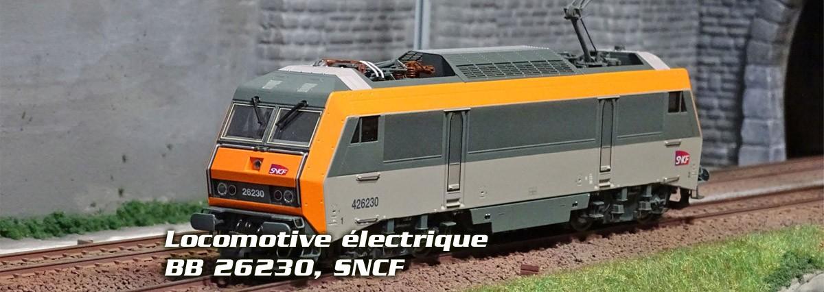 Roco Locomotive électrique série BB 26000, SNCF