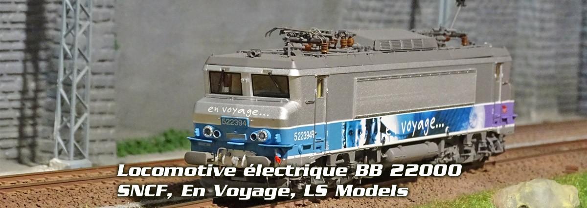 Locomotive électrique BB 22394R, SNCF, En Voyage