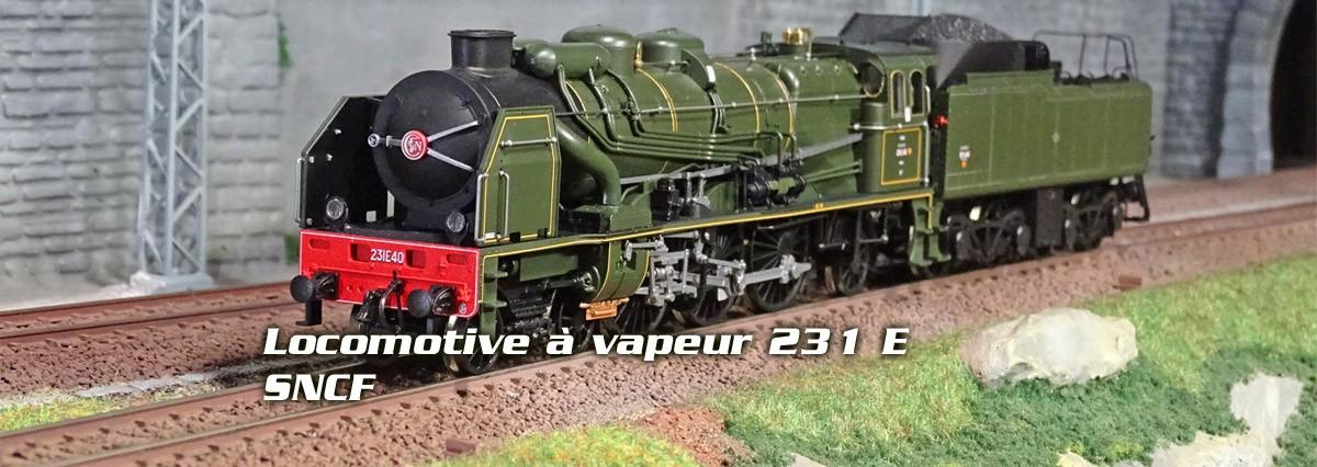 Locomotive à vapeur 231 E, SNCF Roco