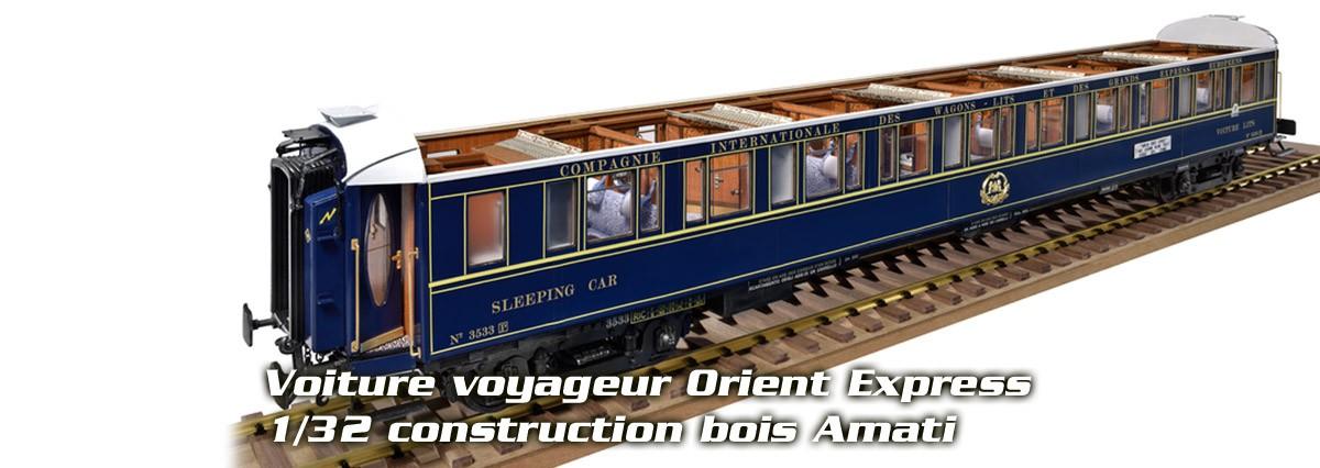 Amati 1714/01 Voiture voyageur Orient Express CIWL 1/32
