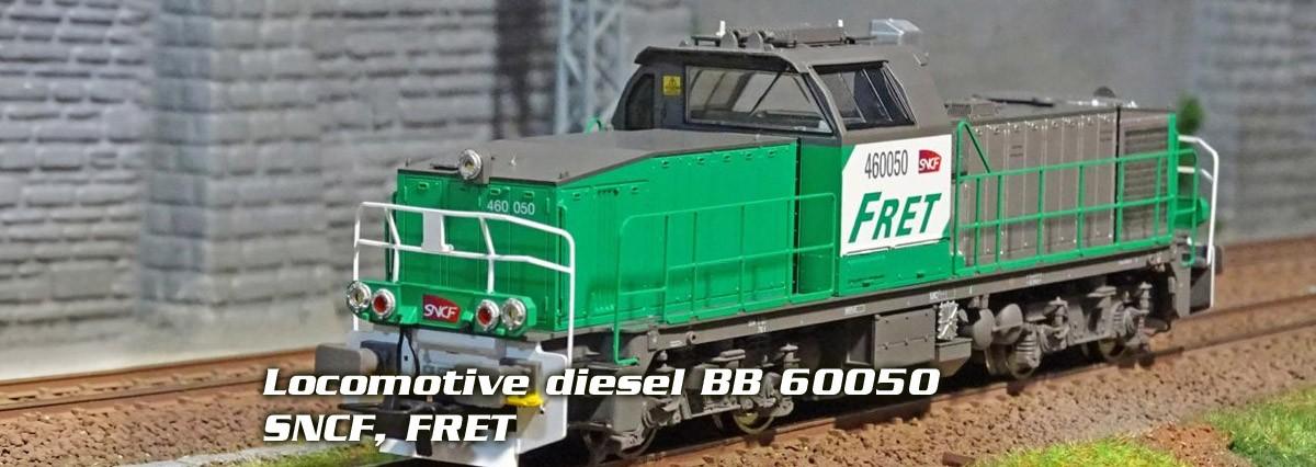 Locomotive diesel BB 60050 SNCF