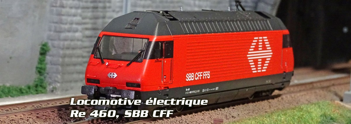 Roco 73286 Locomotive électrique Re 460, SBB CFF, digitale sonore
