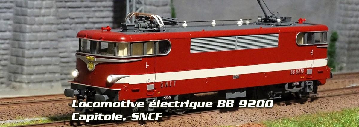 Roco 73397 Locomotive électrique BB 9278, Capitole, SNCF