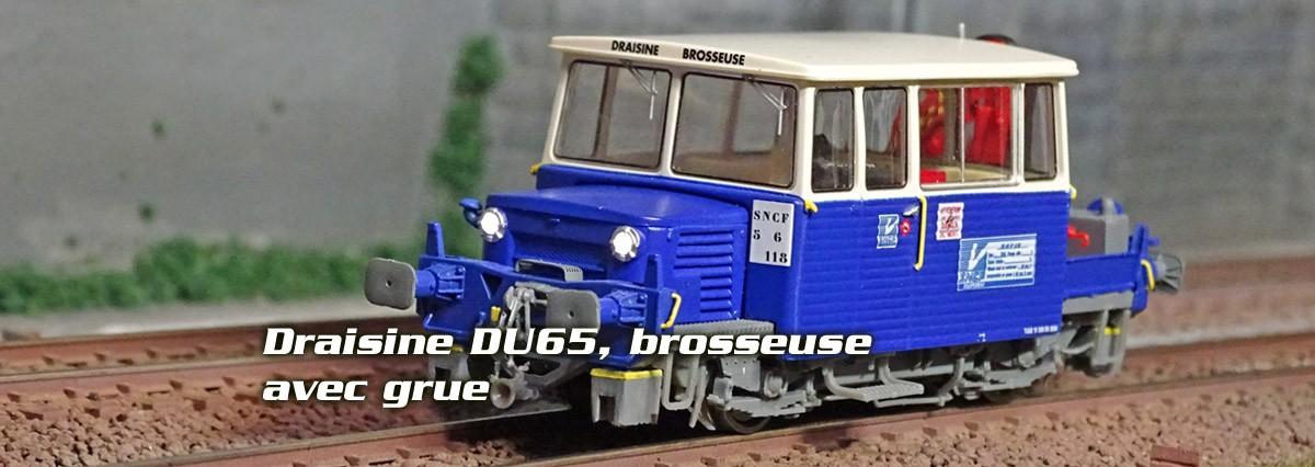 Draisine DU65 REE Modeles