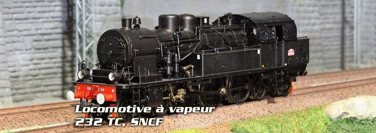 Roco 72166 Locomotive à vapeur 232 TC, SNCF