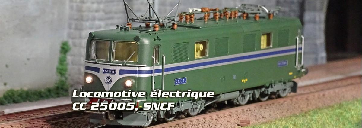 Locomotive électrique CC 25005, SNCF Piko