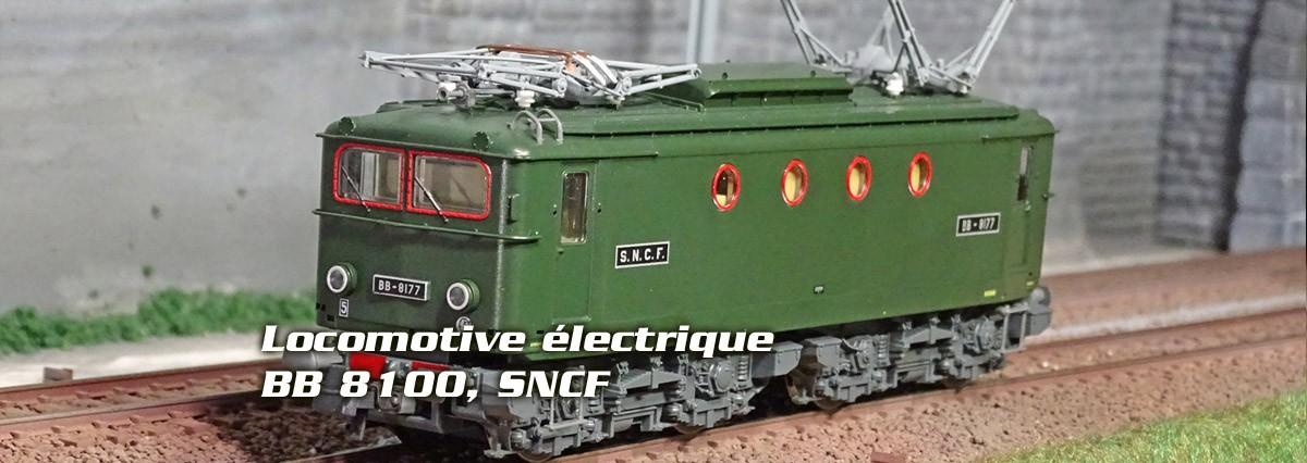 Roco 73051 Locomotive électrique BB 8100, SNCF