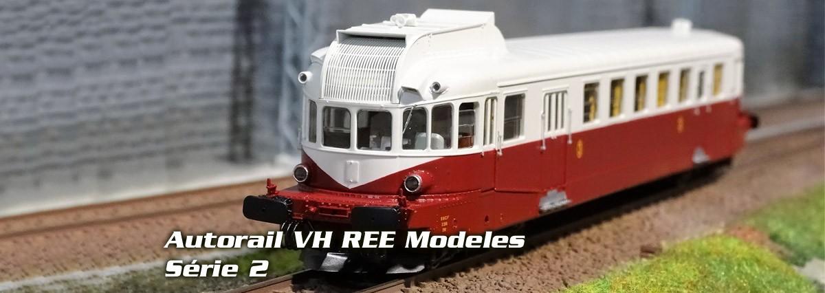 REE Models Autorail VH série 2