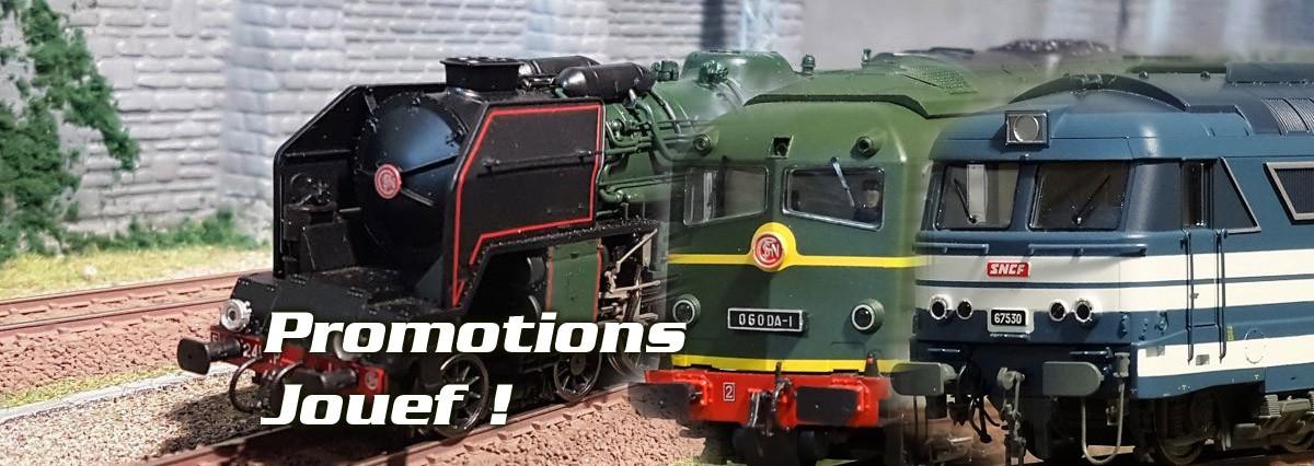 Promotions modélisme ferroviaire