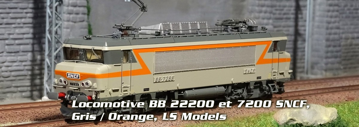 Locomotives LS Models BB 7200
